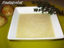 Zwiebelrahmsüppchen - Rezept