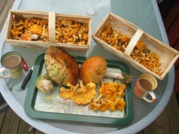 Rezept: Pilzschmarrn böhmisch