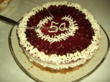 Torte : Kirsch - Torte   ( Nr. 3 ) - Rezept