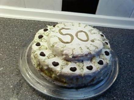 Torte : Hochzeits - Torte die erste !! - Rezept
