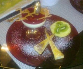 Mascarpone-Sektcreme mit Himbeeren - Rezept