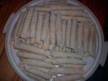 Zigarren - Börek mit Hirtenkäse und frischen Kräuter - Rezept