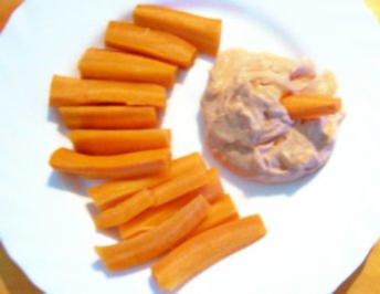 Brotaufstrich: Tomaten-Sahne-Quark - Rezept