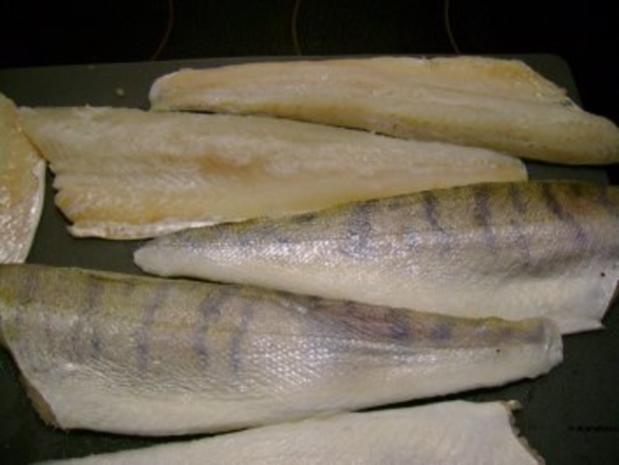 Fisch: Zanderfilet auf Kohlrabipuffer mit Schnittlauchcreme - Rezept - Bild Nr. 2