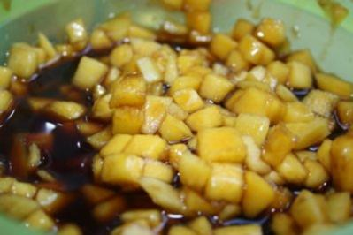 Obstsalat: Balsamico-Mango - Rezept