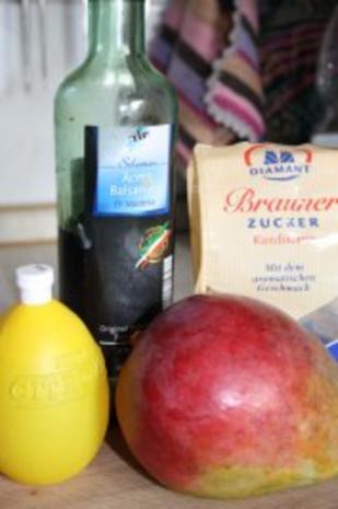 Obstsalat: Balsamico-Mango - Rezept - Bild Nr. 2