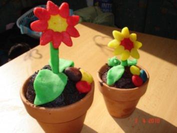 Blumentopfkuchen - Rezept