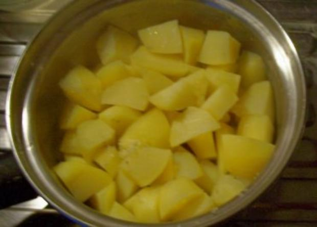 Beilage: Kartoffelpüree / Kartoffelbrei - Rezept