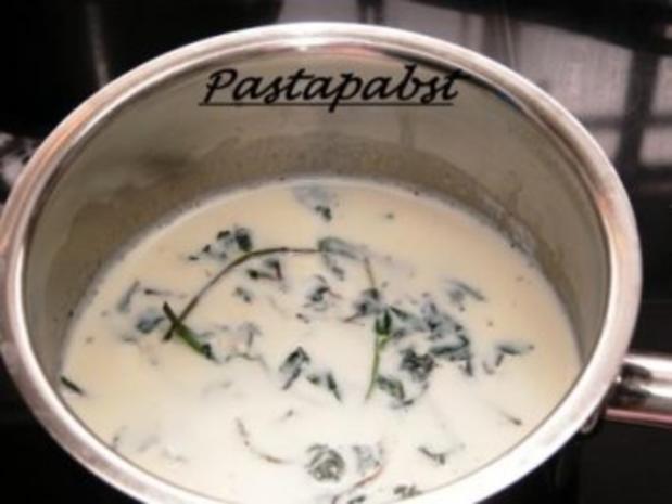 Erbsen-Curry-Suppe mit Minz Schaum - Rezept - Bild Nr. 4