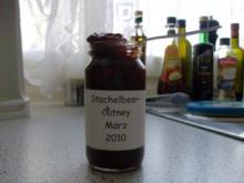 Stachelbeer-Chutney - Rezept