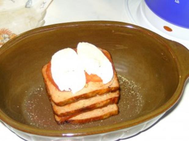 Gefüllter Fleischkäse - Abendessen in 10 minuten - Rezept - Bild Nr. 3