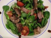 Feldsalat mit Lamm - Rezept