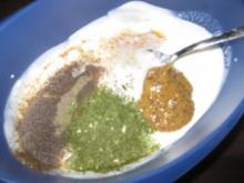Salat - Joghurtdressing - Rezept