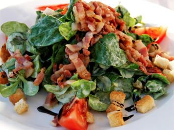 Feldsalat mit Kartoffeldressing - Rezept - Bild Nr. 2