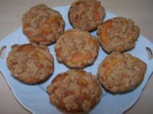Preiselbeer-Streusel-Muffins - Rezept