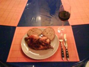 Geflügel: Backhähnchen - Rezept