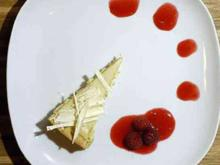 """Richer than Sin White Chocolate Cheesecake"", dazu ein Dessert–Wein - Rezept"