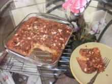 Kuchen - 5 Minuten Schnellkuchen mit Dosenfrucht - ohne Fett- einfach lecker - Rezept