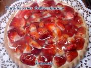 Paradisischer Erdbeerkuchen - Rezept