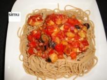 Vegi-Spaghettis - Rezept
