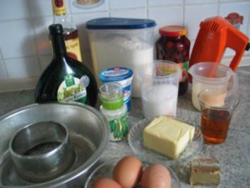 Rezept: Süßspeisen + Desserts: Rum - Savarin