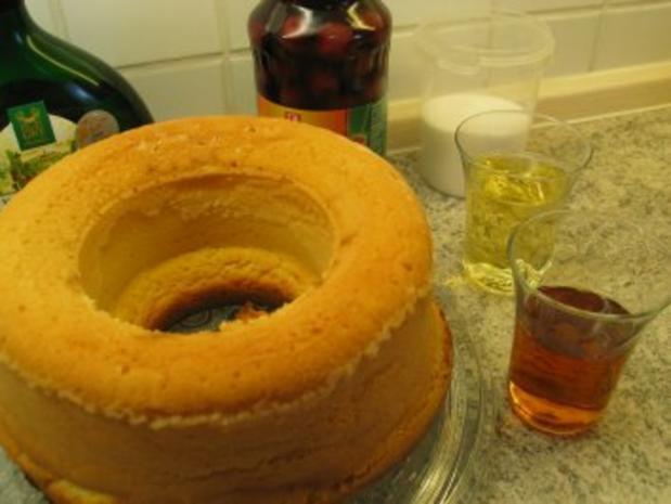Süßspeisen + Desserts: Rum - Savarin - Rezept - Bild Nr. 4