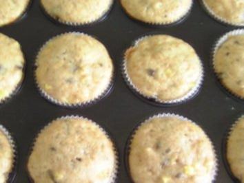 Mango-Schoko-Kefir-Muffins - Rezept