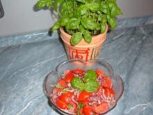 Salat : Tomaten-Salat - Rezept