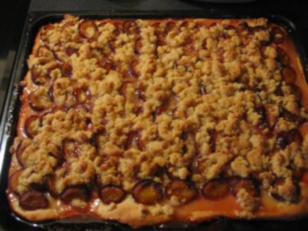 Zwetschgen Streusel Kuchen Rezept Mit Bild Kochbar De