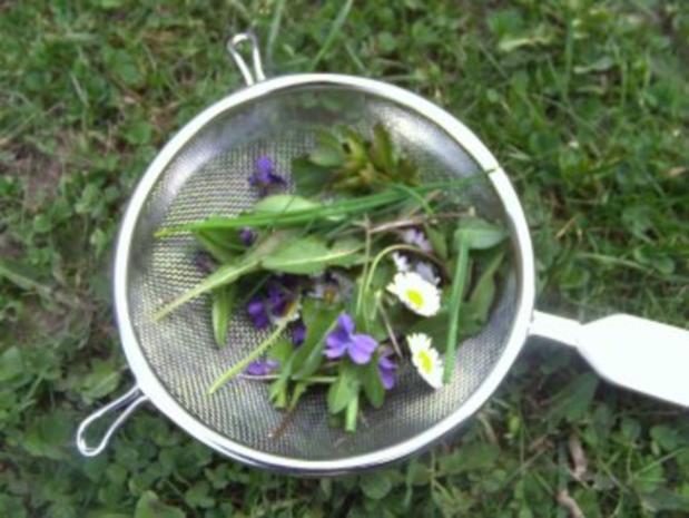 Eier auf Kräuter-Senf-Soße - Rezept - Bild Nr. 5