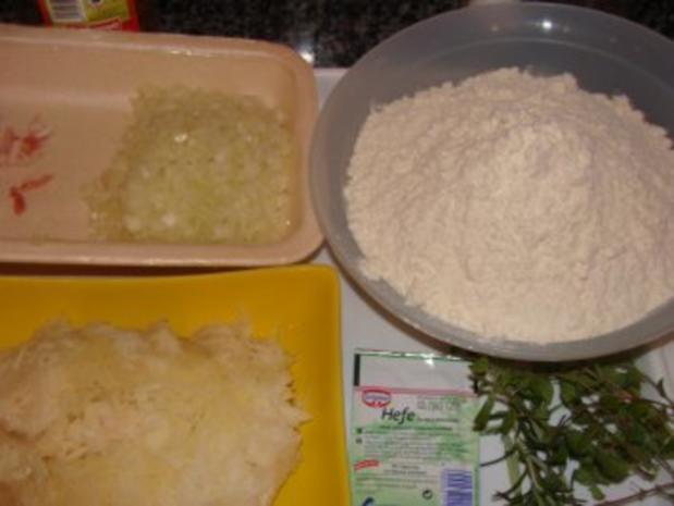 Backen :  -Kräuter- Kartoffelbrötchen- - Rezept - Bild Nr. 3