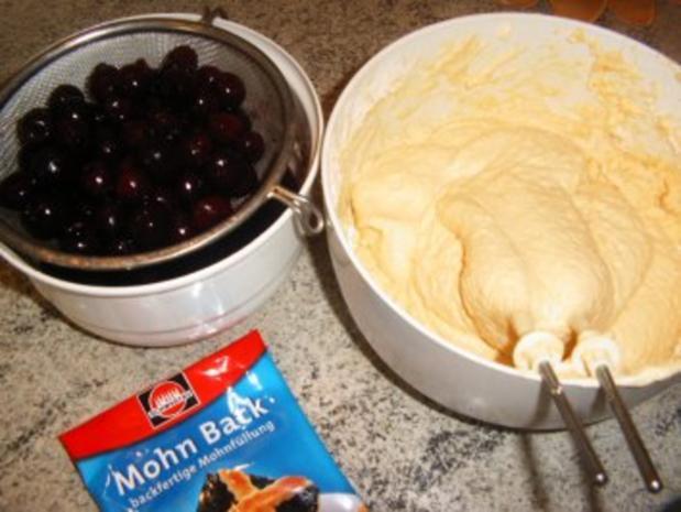 Kirsch-Mohn-Kuchen - Rezept - Bild Nr. 4