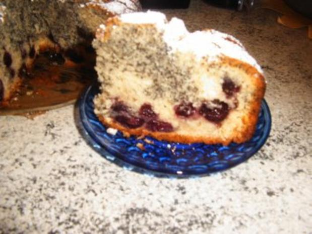 Kirsch-Mohn-Kuchen - Rezept - Bild Nr. 9