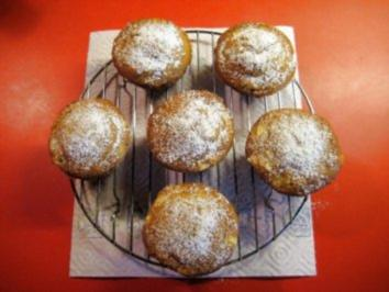 Muffin mit Apfelstückchen - Rezept