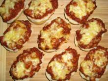 Bolognese Baguettes - Rezept