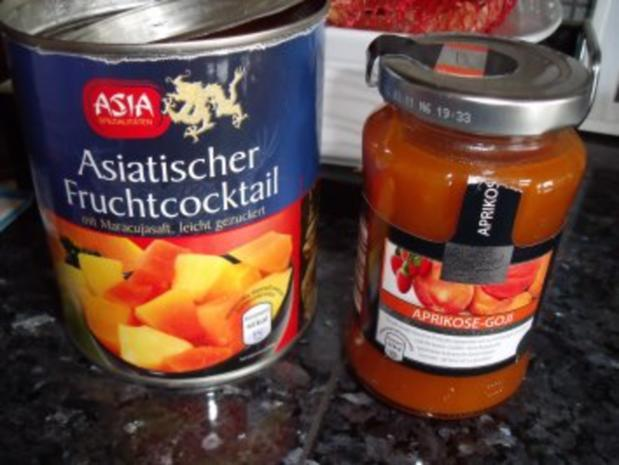 Obstkuchen mit exotischer Note - Rezept