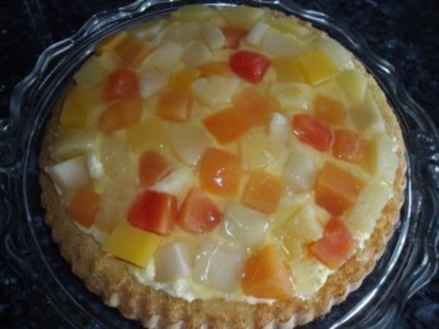 Obstkuchen mit exotischer Note - Rezept - Bild Nr. 2