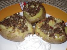 Gefüllte Hack-Kartoffeln - Rezept