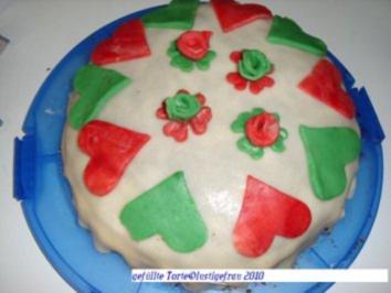 Torte Herzilein - Rezept