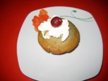 Muffins mit Kirschen und Kirschwasser - Rezept