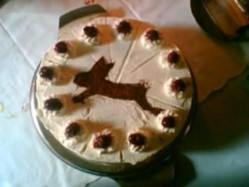 Rezept: Kirsch-Joghurt-Torte