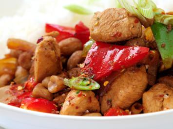 """Rezept: Asiatisches Rindfleisch """"Kung-Bao"""""""