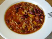 Chili con Carne - scharfe Version - Rezept