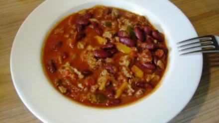 Chili con Carne - scharfe Version - Rezept