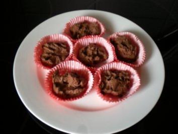 Rezept: Dessert: Schokoladen Küchlein - warm & innen flüssig