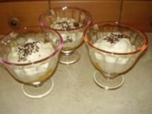 Vanillequark mit Pfirsich - Rezept