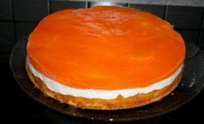 Pfirsich-ACE-Sahne-Torte - Rezept