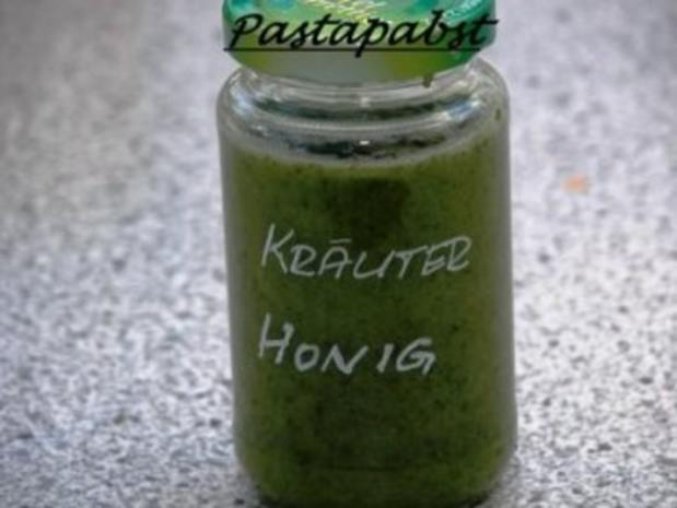 Kräuterhonig - Rezept
