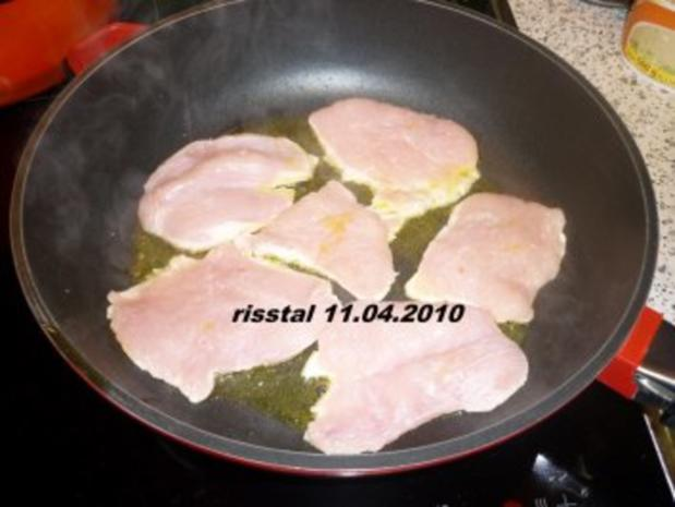 Putenschnitzel mit Pilz-Sahne-Soße - Rezept - Bild Nr. 3