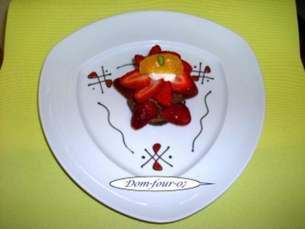 Erdbeer-Schokoladen-Sahne-Windbeutel - Rezept - Bild Nr. 2